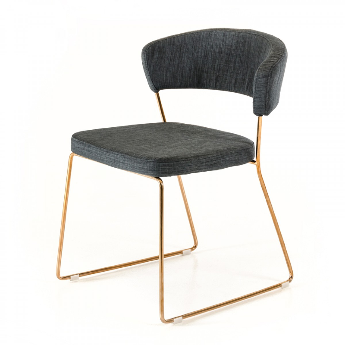 modern gray dining chairs ikea glass table and 4 rudolpho grey chair with rose gold