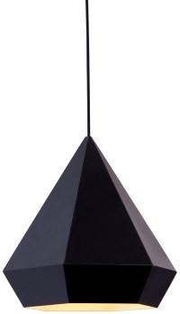 Forecast Ceiling Lamp - Black or Rose Gold Pendant Ceiling ...