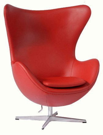 jacobsen egg chair leather picnic time folding sports with side table arne in