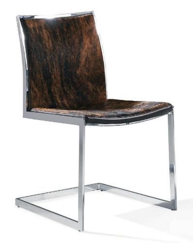 Cowhide Modern Dining Chair  Advanced Interior Designs