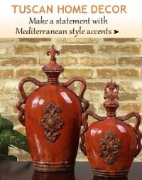 Tuscan Decor | Italian Pottery Majolica | Tuscany Italian ...