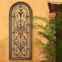 Architectural Tuscan Window Arched Wall Grille ...