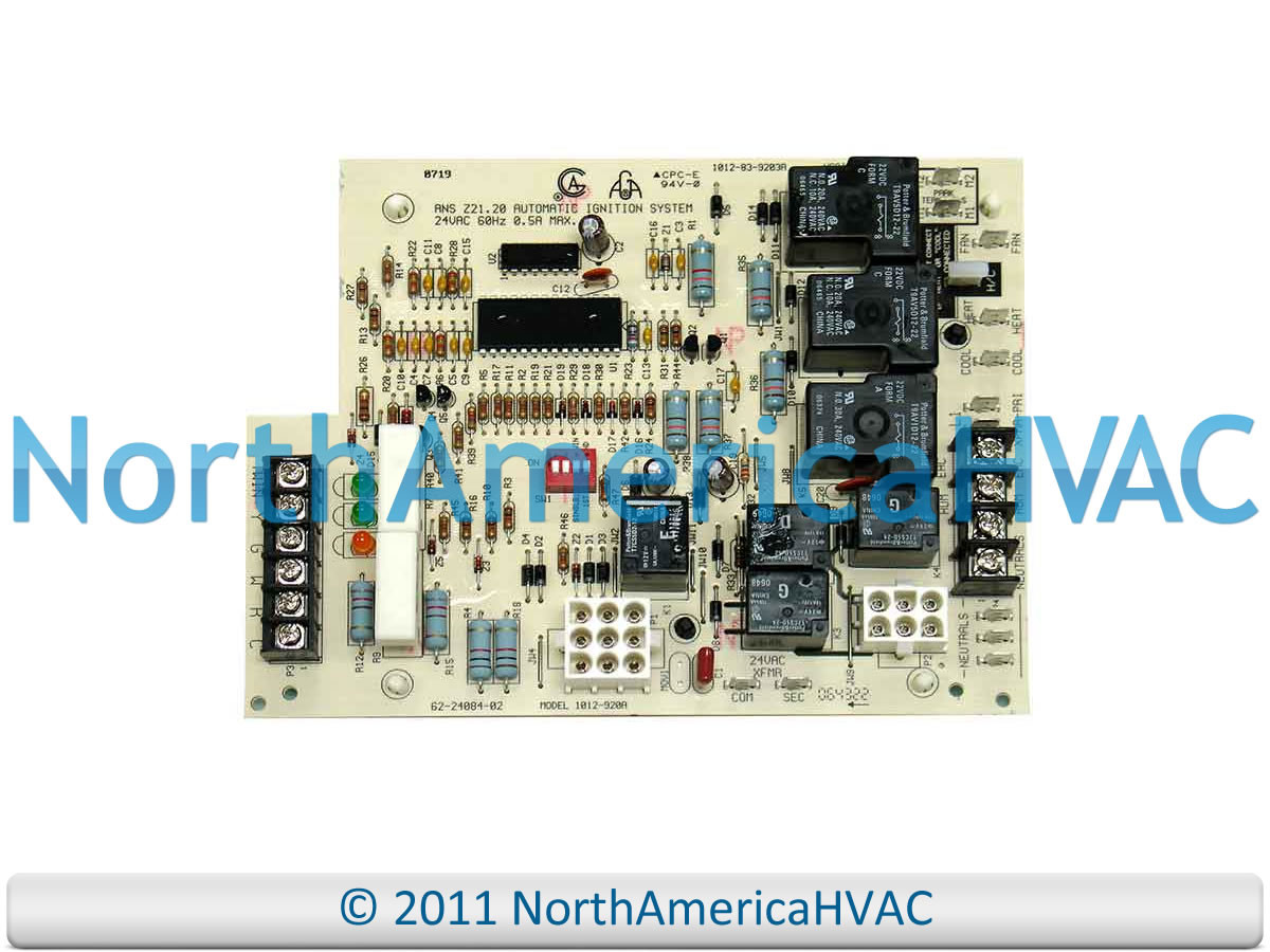 hight resolution of rheem ruud weather king furnace fan control board 62 22694 11 62 22694 12