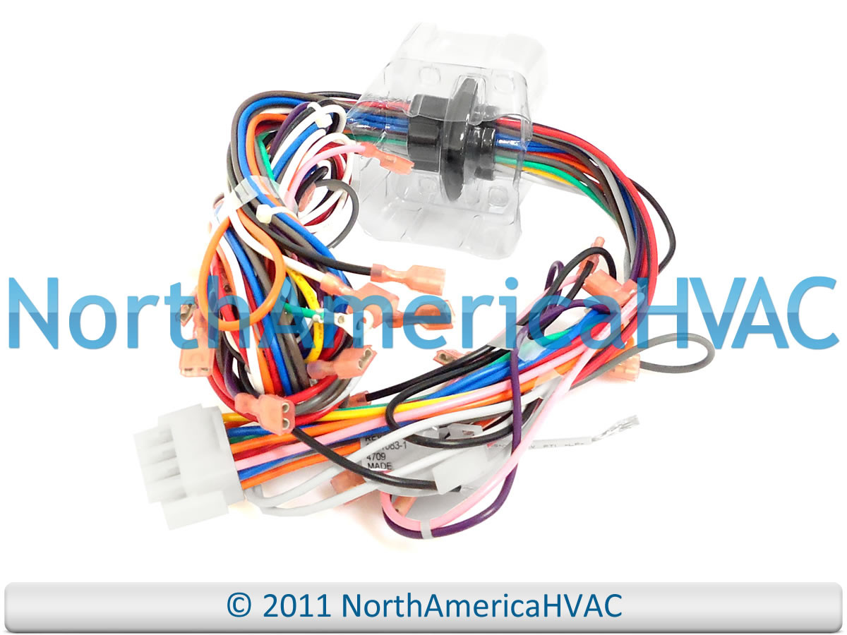 small resolution of goodman amana janitrol furnace wiring harness connectors plugs 0159f00003