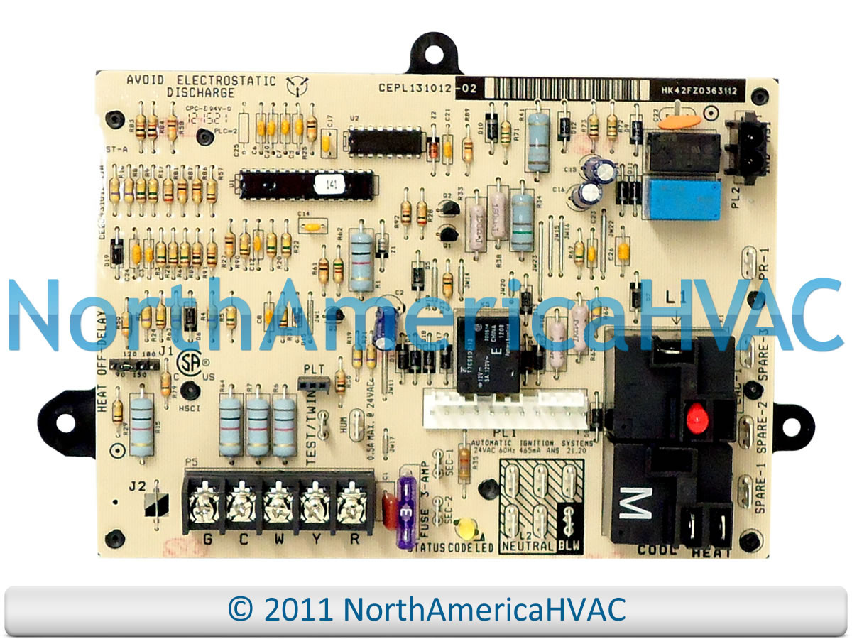 small resolution of carrier bryant payne furnace control circuit board cepl131012 02 cebd431012 11a