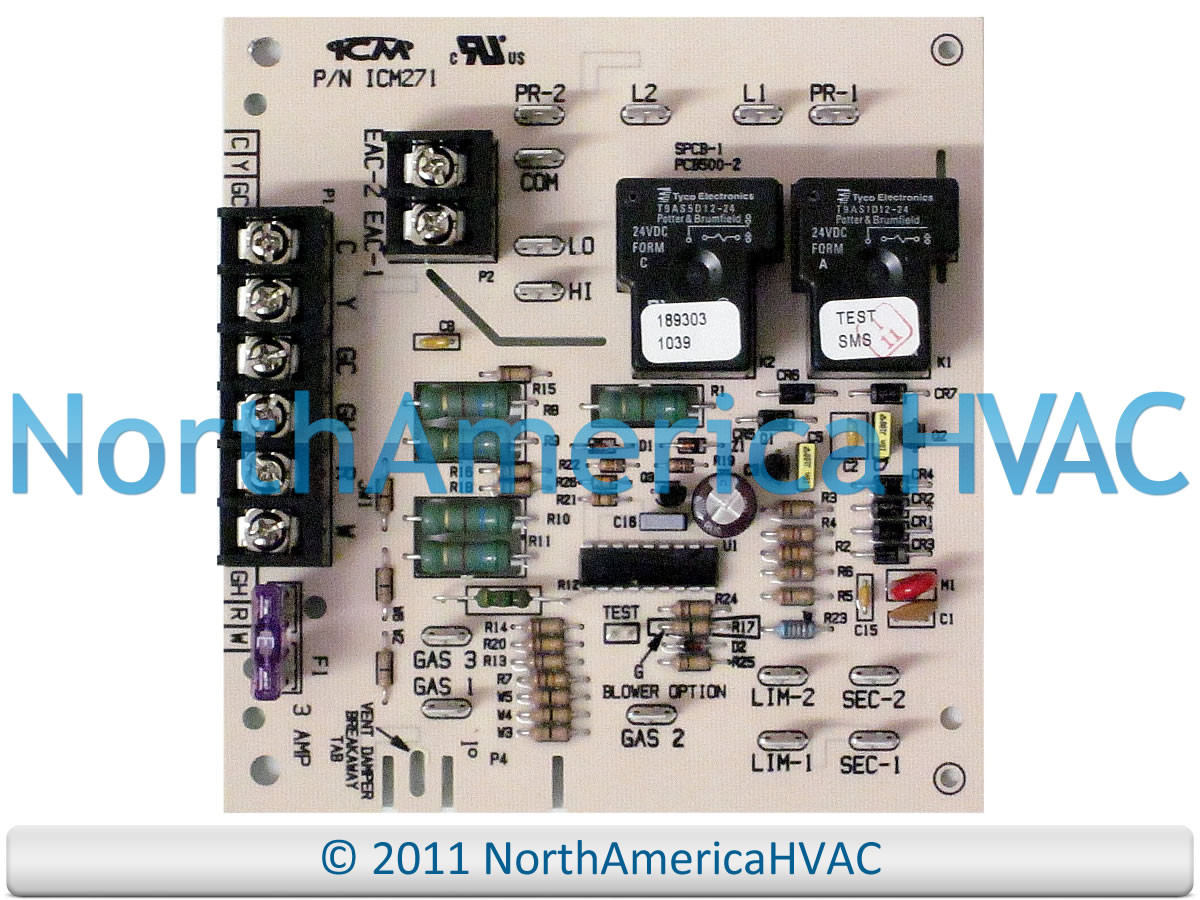 medium resolution of carrier bryant payne furnace blower fan control circuit board hh84aa011