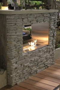 Key West Ready To Finish Linear Outdoor Fireplace - Urban ...