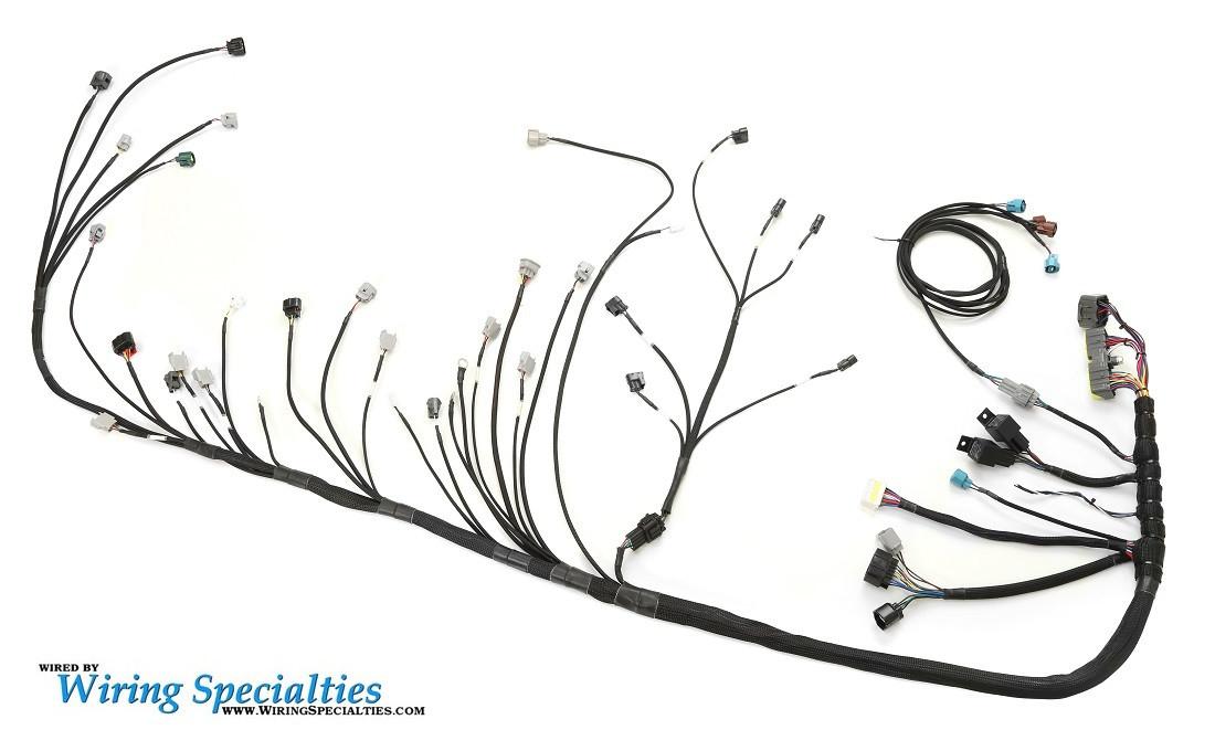 sr20det wiring diagram 96 jeep cherokee alternator rx7 2jzgte swap harness | specialties