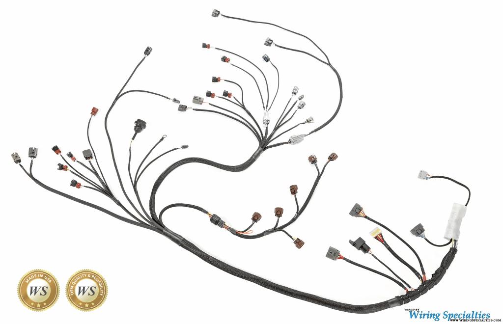rb20det ecu wiring diagram rv converter charger s13 240sx rb26dett swap harness | specialties