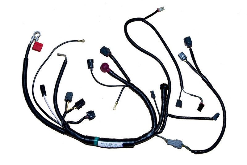 nissan 240sx s13 rb20det transmission harness wiring specialties