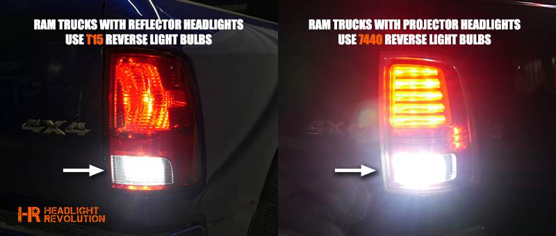 Led Backup Lights Wiring 2009 2018 Dodge Ram Led Reverse Bulbs Upgrade