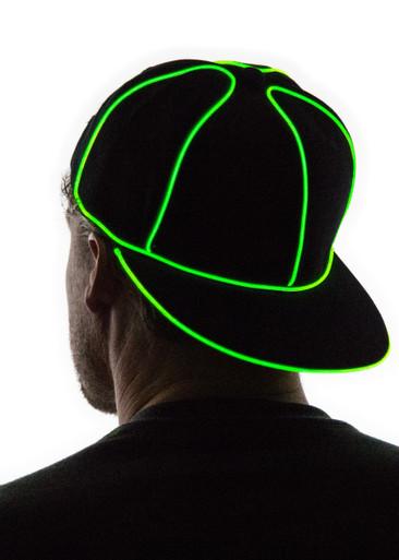 Light Up Snapback Hat  Neon Nightlife