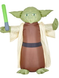 Inflatable Light Up Yoda