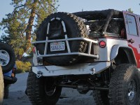 Jeep JK Swing Out Rear Tire Carrier - Aluminum | GenRight ...