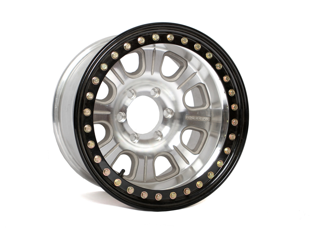 Raceline Monster Beadlock Wheel 17 X 8 Genright Jeep Parts