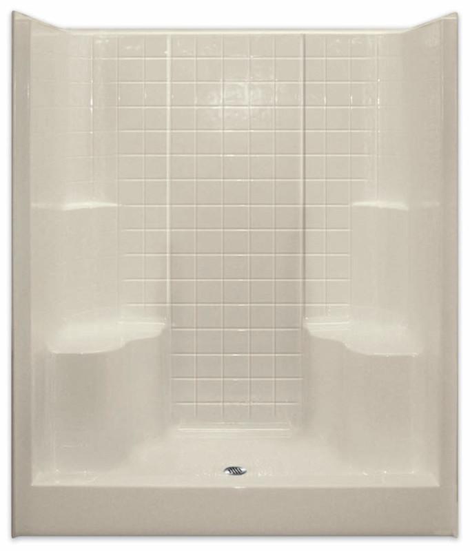 Shower Stall Showers Low Price Center Drain G6099SH2STile