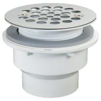 Shower Drain for Fiberglass Installation - Sale 25% Off