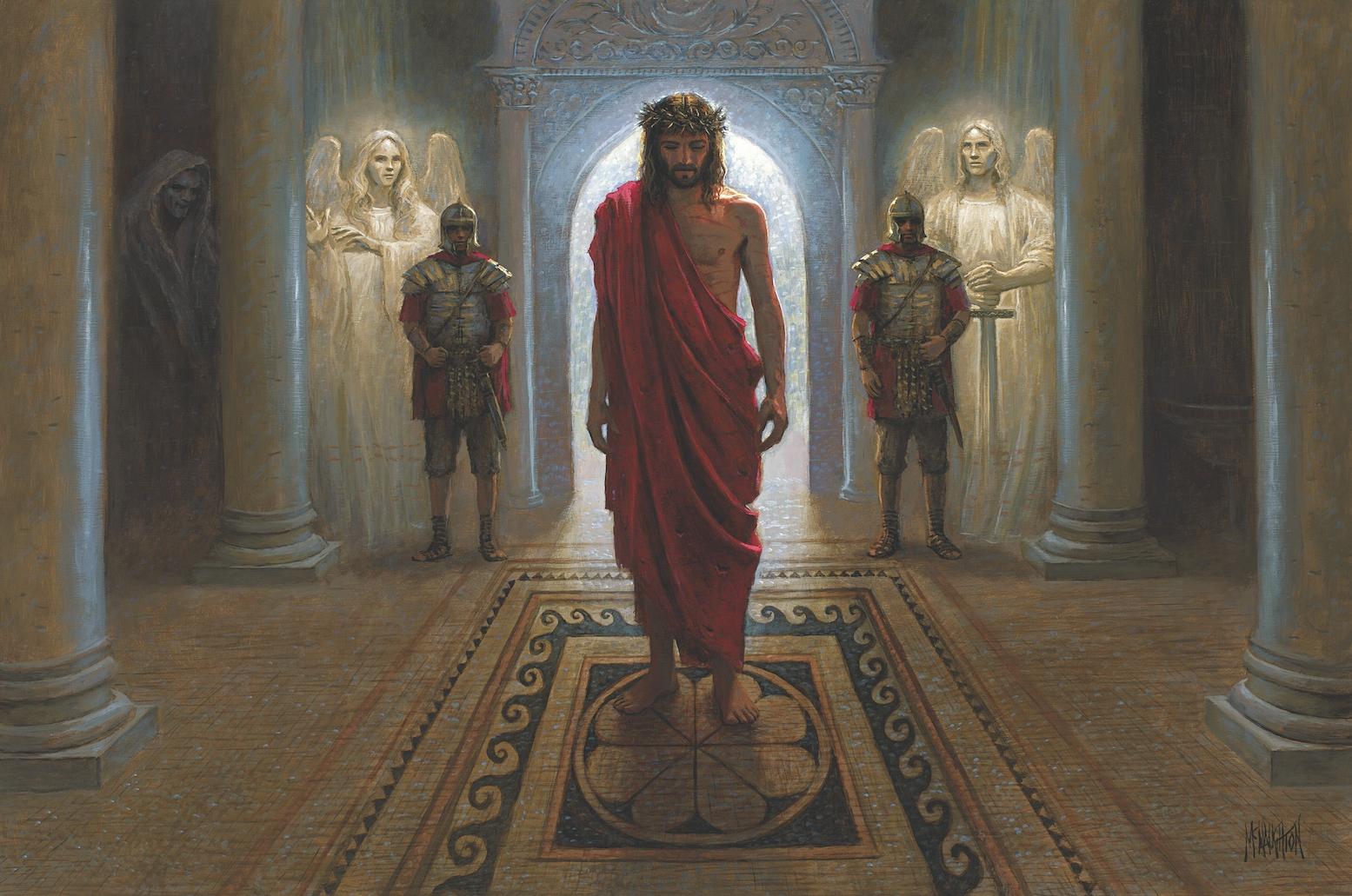 Religious - Awaiting Command Mcnaughton