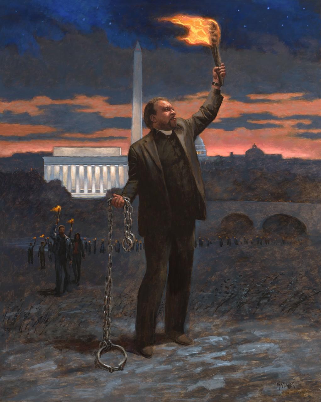 Patriotic - Political Runaway Slave Mcnaughton Fine Art
