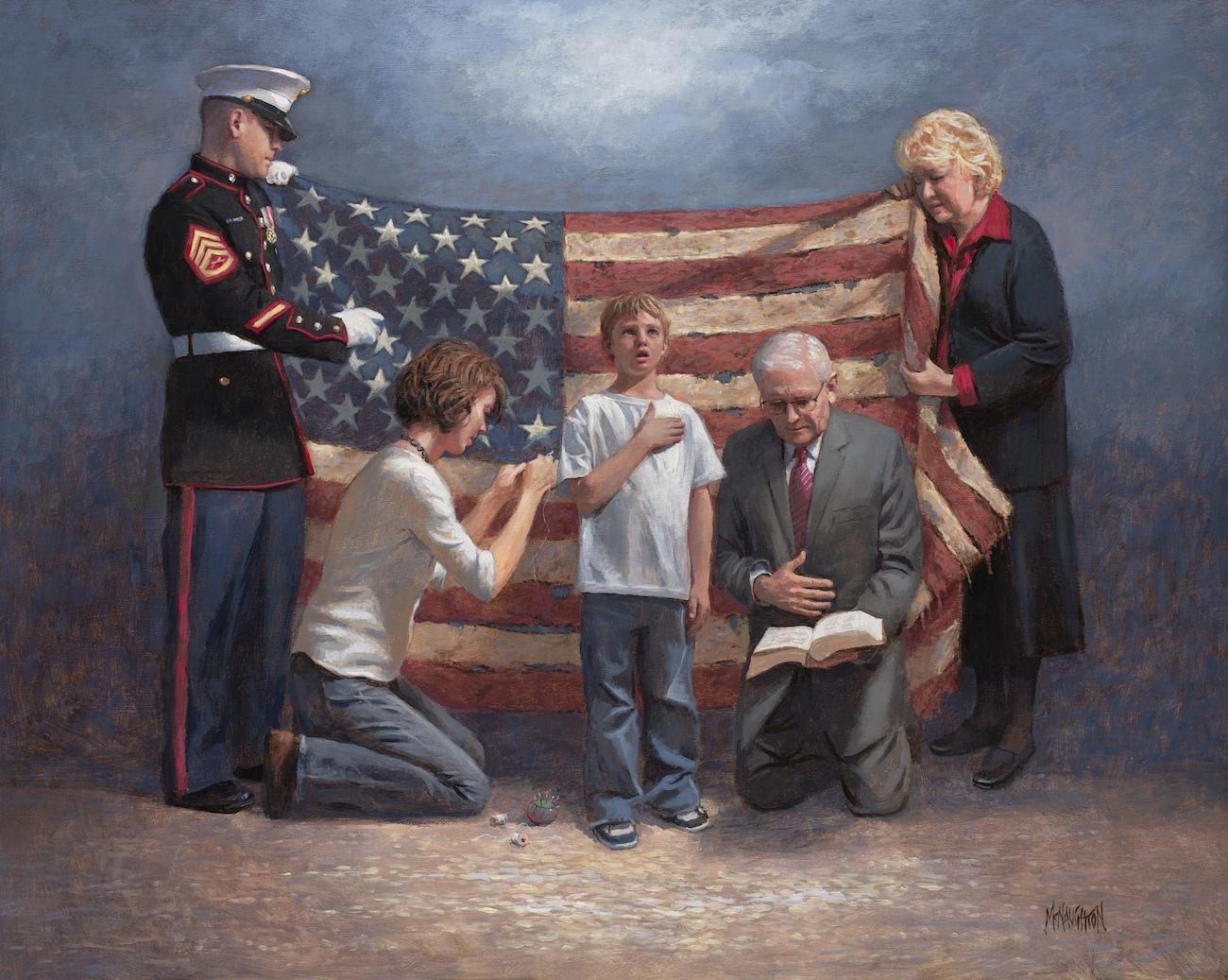 Patriotic - Americana Mending Nation Mcnaughton