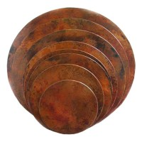 Round Copper Table-Top