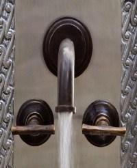 Modern Kitchen Bar Wall Bronze Faucet