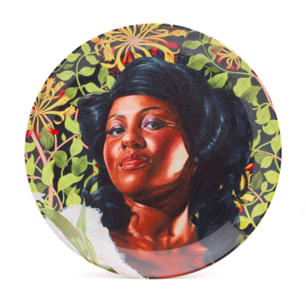 Kehinde Wiley Porcelain Plate Mary Little Lady