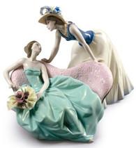 Art Porcelain Figurines  Lladr sculpture Angel