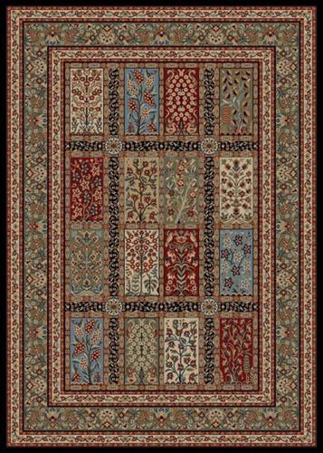 Dean 53 X 77 Panel Eden Multicolor Oriental Area Rug