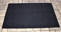 Dean 6' x 8' Black Indoor/Outdoor Carpet Door Mat/Rug