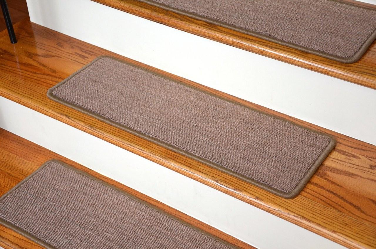 Dean Premium Carpet Stair Treads Keaton Taupe 13 36 X | 36 Carpet Stair Treads