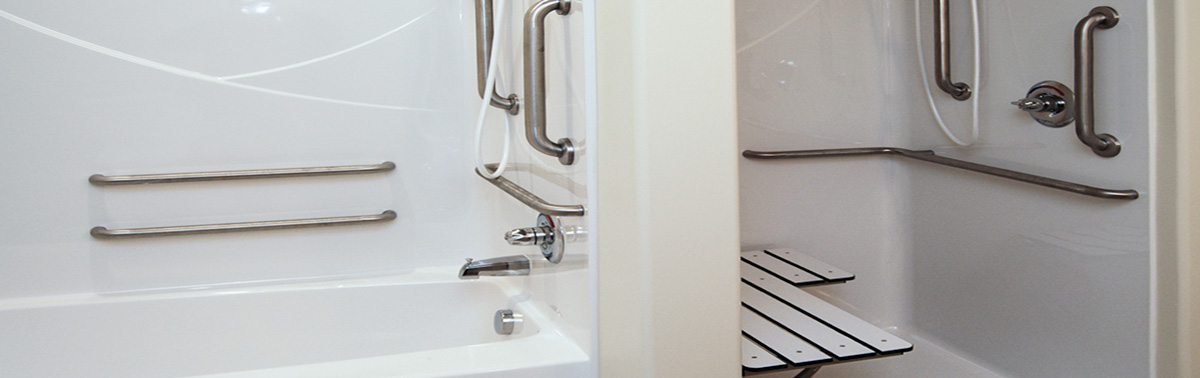 grab bars & safety handrails | ada approved accessibility