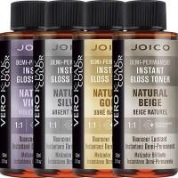Joico Demi-Permanent Instant Gloss Toner Natural Haircolor ...