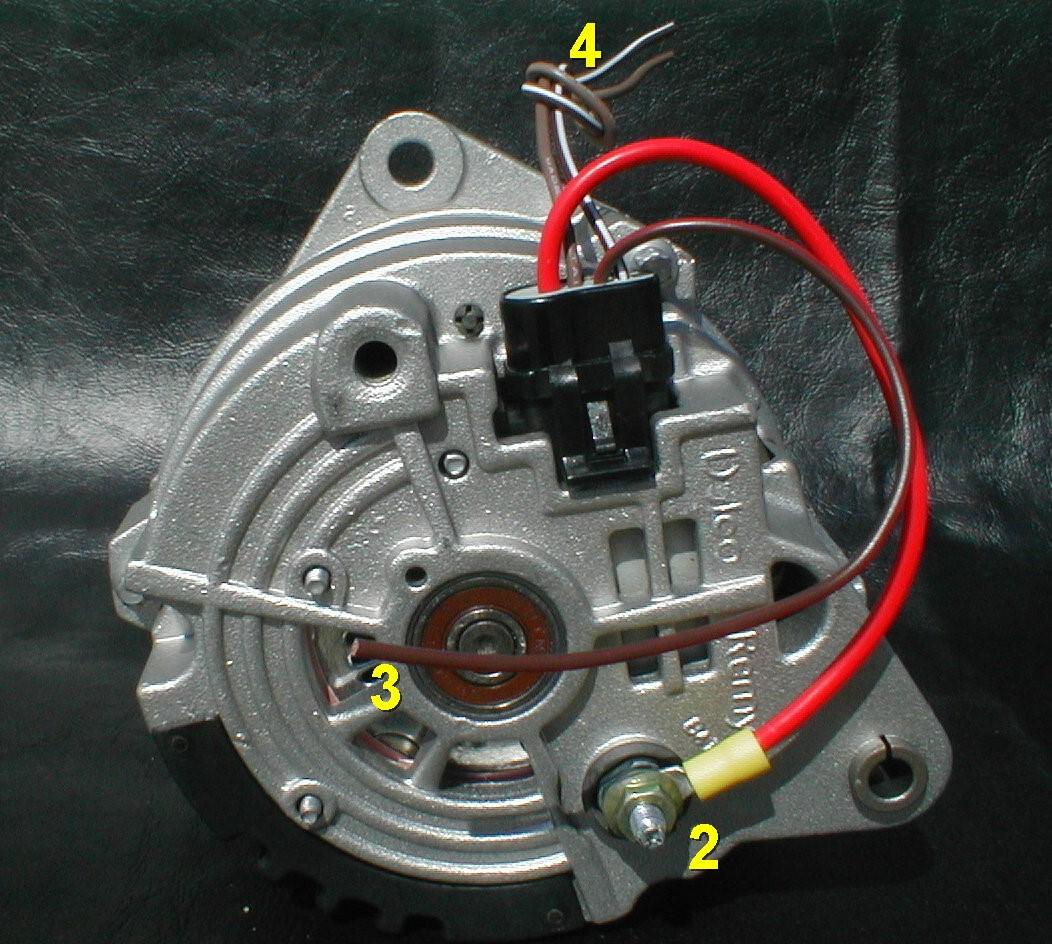 delco cs alternator wiring diagram 1999 ford mustang cs130d acdelco cs130 best librarytwo wire schematic motorcraft