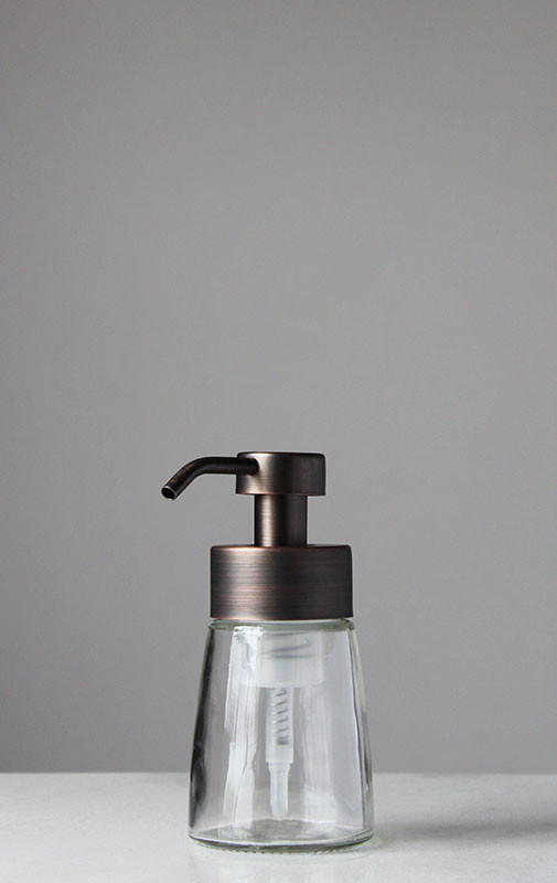 Foam Soap Dispensers  Small Glass Foam Soap Dispenser