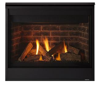 Majestic Quartz 32 Gas Fireplace