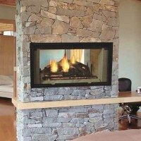 Majestic Designer Series See-Thru Wood Burning Fireplace 42""