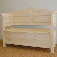 Farmhouse Entry Bench (Small)- English Farmhouse Furniture ...