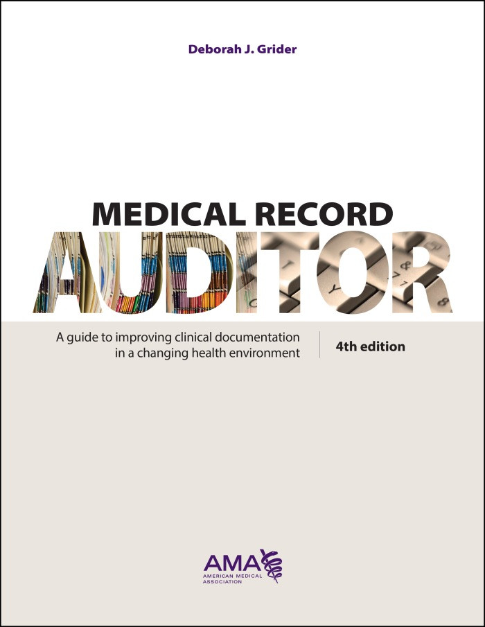 Medical Record Auditor fourth edition