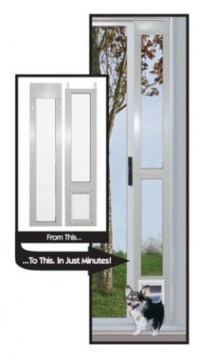 "Aluminum Modular Pet Patio Doors ""Great For Balconies ..."