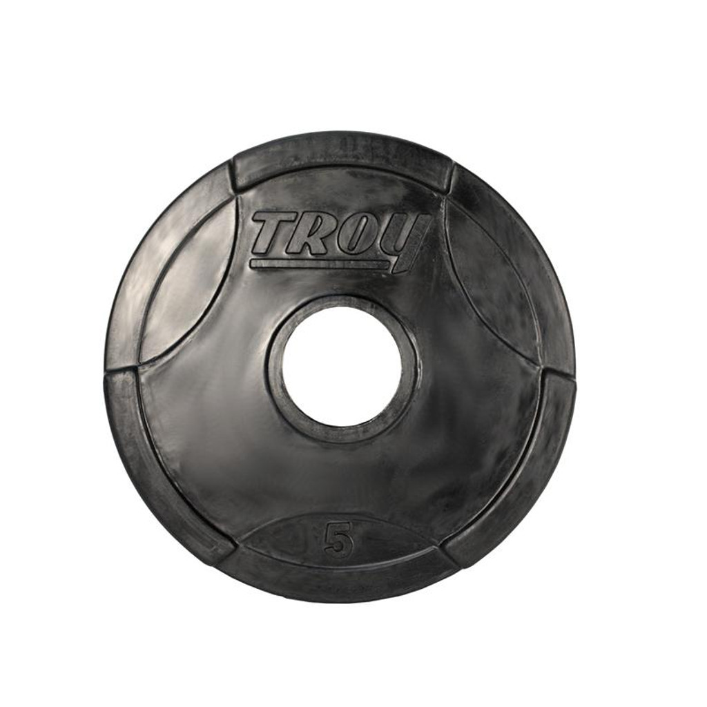 Rubber Coated Olympic Grip Plates Troy Gtech