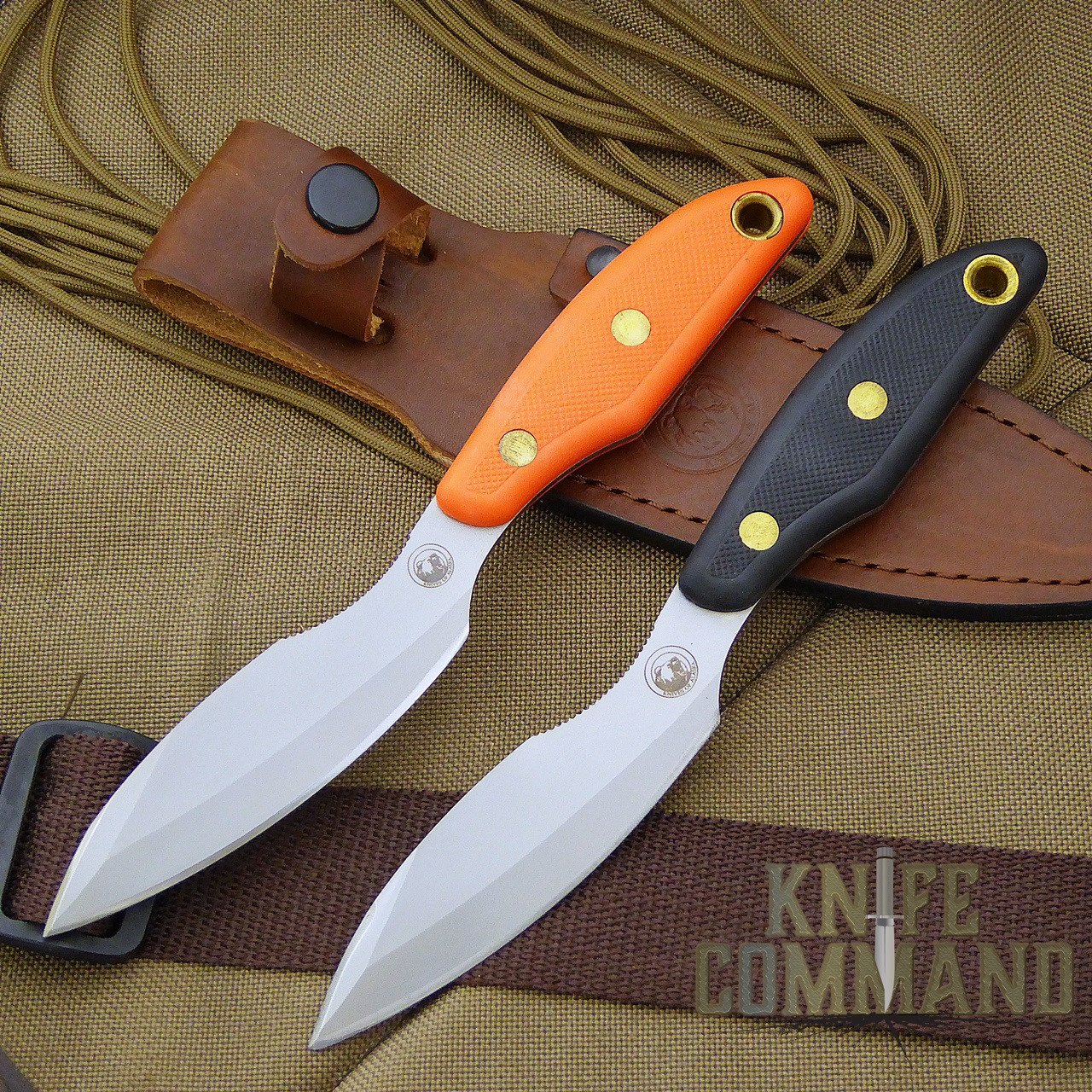 Fixed Blade Knife Handle
