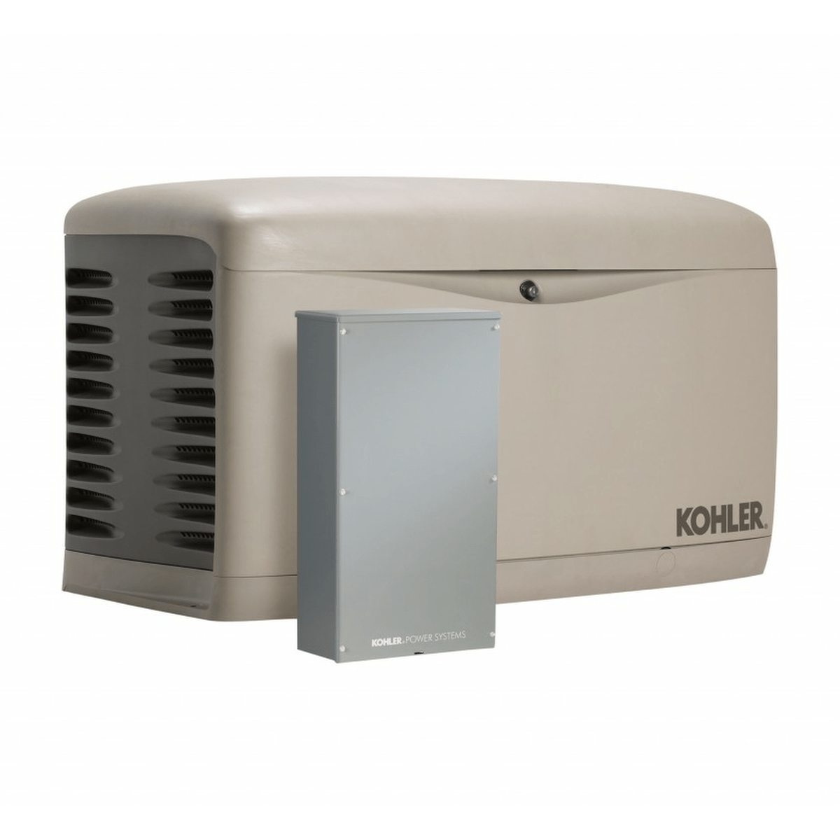 kohler 20resal 100lc16 20kw generator with 100a 16 circuit transfer switch [ 1200 x 1200 Pixel ]