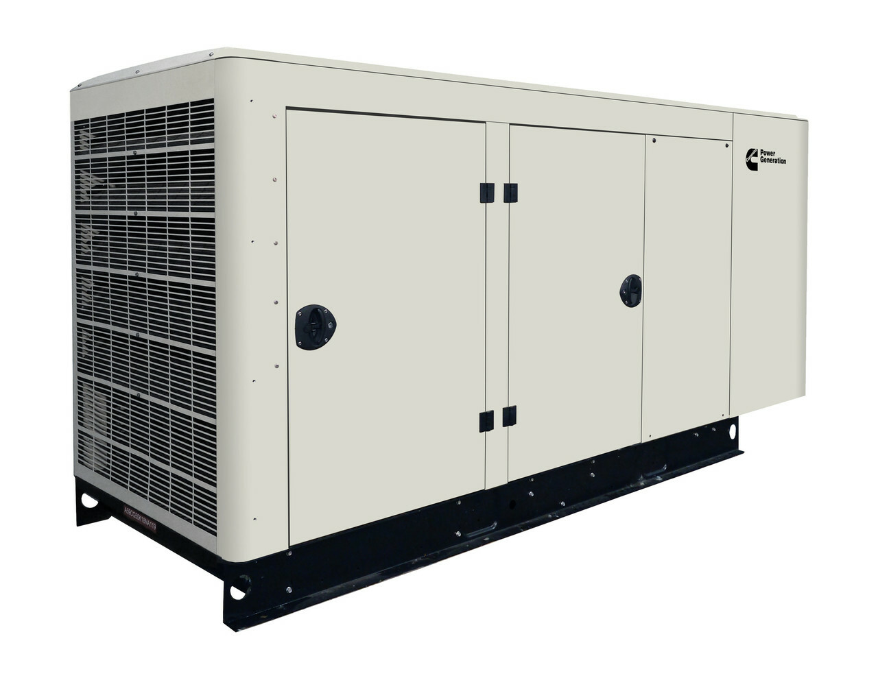 cummins rs50 quiet connect series 50kw generator [ 1280 x 989 Pixel ]