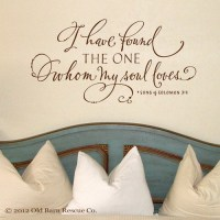 I Have Found the One Whom my Soul Loves Wall Art ...