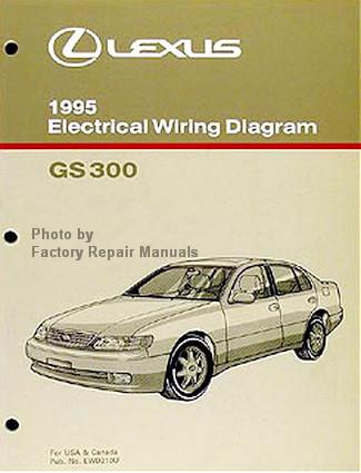1995 Lexus GS300 Electrical Wiring Diagrams GS 300 Original Manual  Factory Repair Manuals