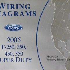 Mercruiser Wiring Diagram 7 4 Ford E350 Trailer 2005 F250 F350 F450 F550 Super Duty Truck Electrical Diagrams Manual New - Factory ...