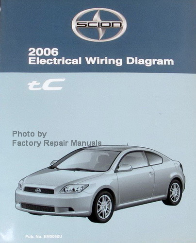 2006 Toyota Scion Xb Electrical Wiring Diagram Service Shop Repair