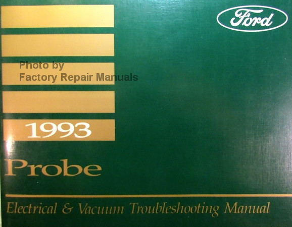 Ford Probe Wiring Diagram Wiring Diagram Schematic 1997 Ford Probe