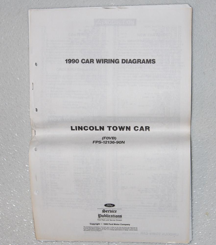 2004 Lincoln Town Car Original Wiring Diagrams